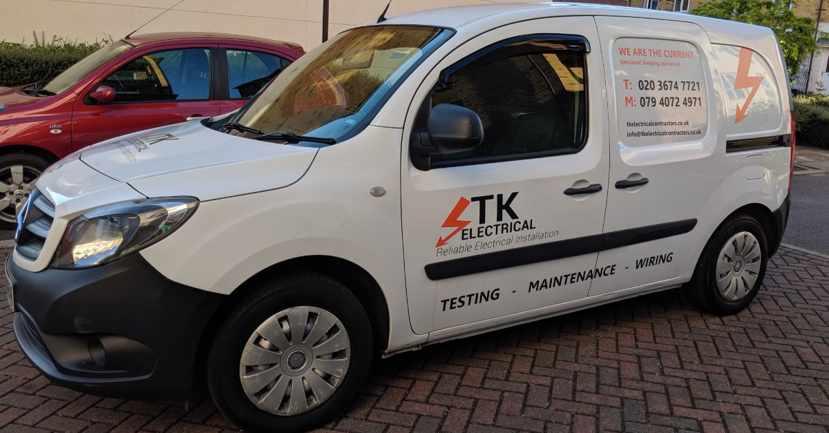 TK Electrical Contractor companies car